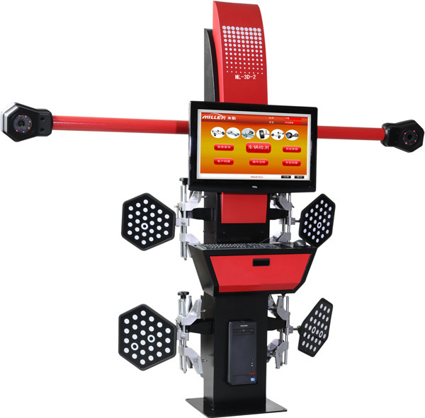 Car Repair Tools 3D wheel Alignment Machine For Tire correction On Sale ML 3D 2