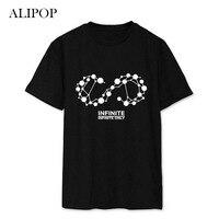 Youpop kpop infinite onlyอัลบั้มเสื้อk-popลำลองผ้าฝ้าย