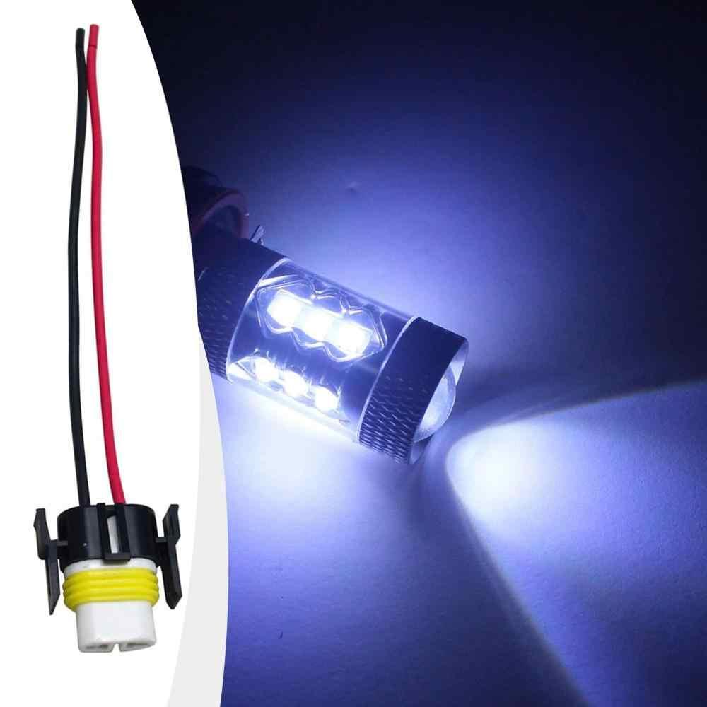 Lampu Mobil Lampu Lampu Pemegang Mobil H8 H11 Soket Bohlam Lampu Kabut Soket Adaptor