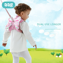 AAG Baby Kids Safety Harness Backpack Toddler Anti-lost Strap Traction Belt Rope Infant Walking Harnesses Leashes 20