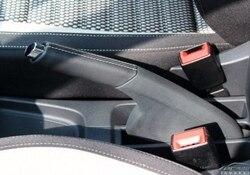 OEM New Polo CROSS new Santana Xin Rui modified leather hand brake sheath handbrake handle bright button cover