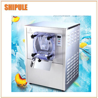 Fashionable commercial hard ice cream gelato machine