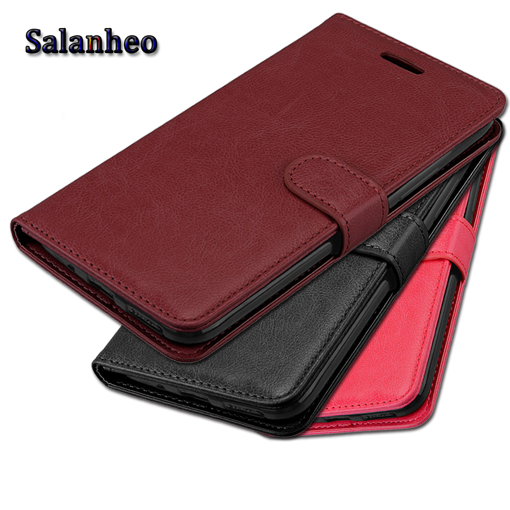 Case for Samsung Galaxy J7 Max Case leather Cover for Samsung Galaxy J7 Max G615F Flip Cover wallet Case for Samsung J7 Max bags