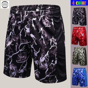 Half-Shorts Sweat-Quick-Dry Fitness Sporting Casual Print Loose 120pcs Wicking Breathing-Fabric