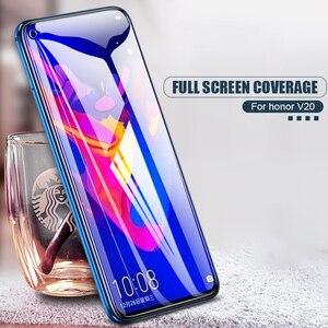 Image 3 - Verre de protection 9D pour Huawei Honor 8X 9i 10i 20i V20 V10 V9 Play 8C 8A Note 10 Magic 2 Film de protection décran en verre trempé
