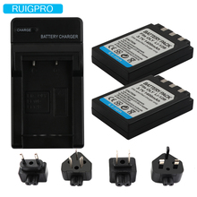 2X Li-10B Li10B Li 10B Li-12B Li12B 12B Battery+1Port Battery charger LED For Olympus C-50/6070/470/5000/7000 Mju 20 25 L15