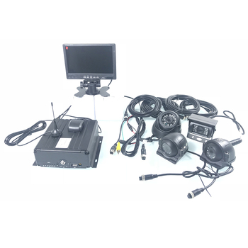 Anti-vibración y anti-vibración HD estable, rentable, soporte 960 PAHD 3G GPS camión kit de monitoreo bus/vehículo todoterreno