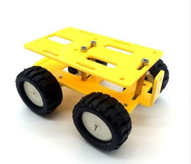 4WD Inteligente Robot Car Chasis Kits para arduino con Velocidad Encoder Nuevo