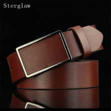 110cm 2018 belt men Artificial leather strap male belts for men buckle fancy vintage jeans cintos masculinos ceinture homme U114