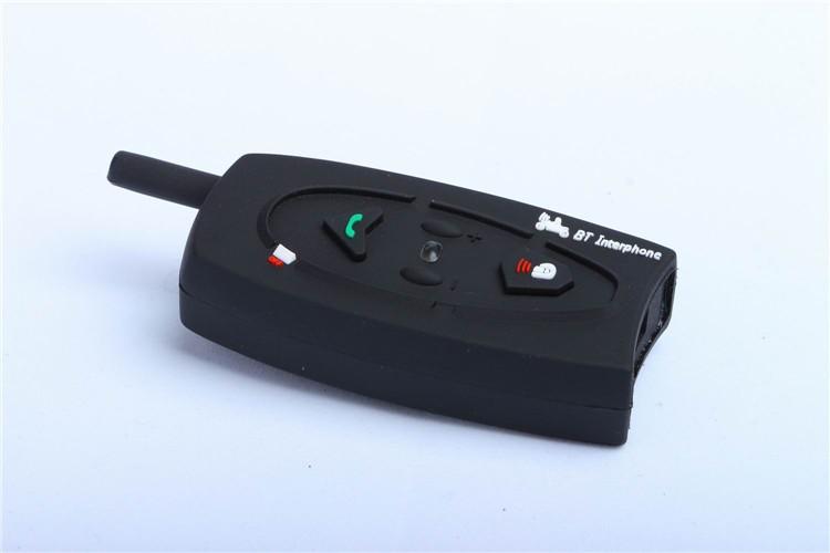 500M Wireless Bluetooth Motorcycle Helmet Intercom for 2 Riders Interphone Earphone Headset 1PcsSet (6)