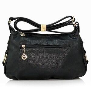 Image 5 - Fashion Ladies Leather Handbags Tote Shoulder Bags For Women Messenger Bags, women bag Shoulder Crossbody Bags free shipping