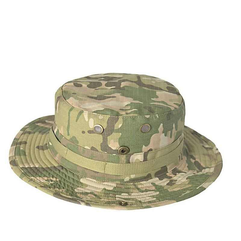 Tactical Airsoft Sniper Camouflage Boonie Hats Nepalese Cap Militares Army Mens American Military Accessories Hiking