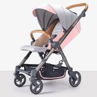 High Landscape Baby Stroller Light Foldable Umbrella Stroller Can Sit Or Lie Down Kinderwagen Bebek Arabasi Portable Stroller