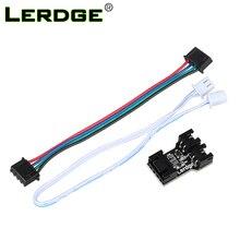 LERDGE-X 3D принтер материнская плата Горячая кровать расширения Интерфейс адаптер модуль LERDGE контроллер части
