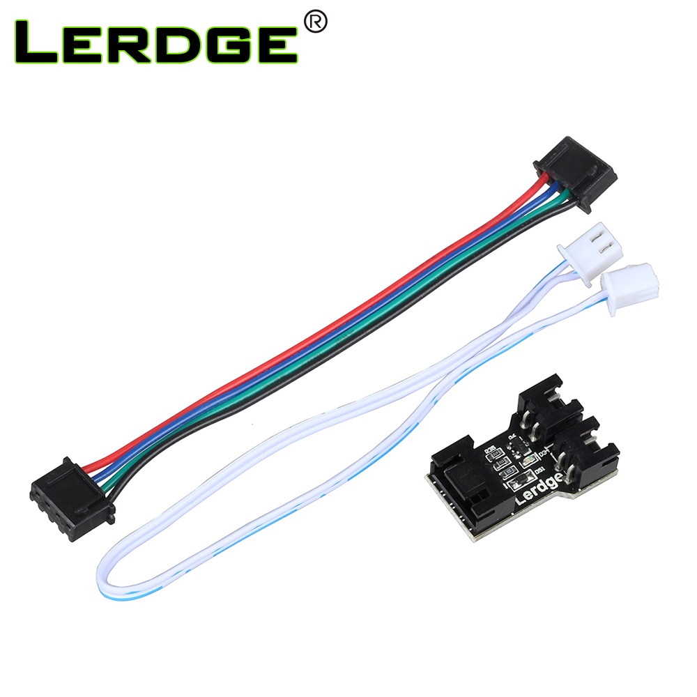 Lerdge-X 3D printer motherboard hot bed expansion interface adapter module LERDGE controller parts