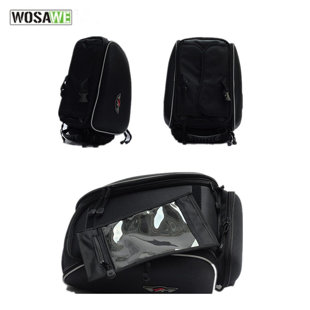 Pro-велосипедиста водонепроницаемый мотоцикл сумка на бак мото камера чехол магнитный сосать масляный бак мешок руки шлем багажник бокс мотокросс сумки
