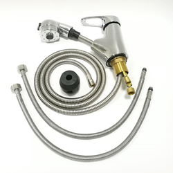 Oszczędzania wody kran prysznic pociągnij się głowy i wąż zestaw dla RV przyczepy  ręczny prysznic zestaw z wężem akcesoria do przyczep kempingowych|System prysznicowy|   -