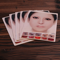5PCS Silicone Tattoo  3D Lips Practice Skin Best Price Tattoo Practice Skin for Lips and Eyebrow Tattoo Supply  MUA732