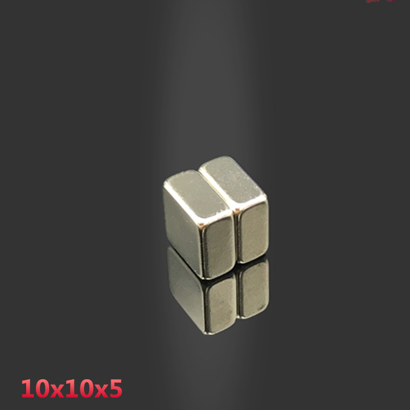 10pcs 10x10x5 mm neodymium magnet 10mm*10*5mm strong rare earth magnets 10*10* 5 mm NdFeB permanent round magnetic 10mmx10x5mm(China)