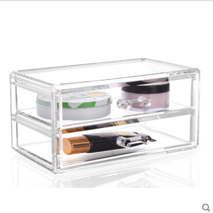 Transparent Make-up Box Of Multi-function Receive Swab Box Store Content Box & Storage Box ...