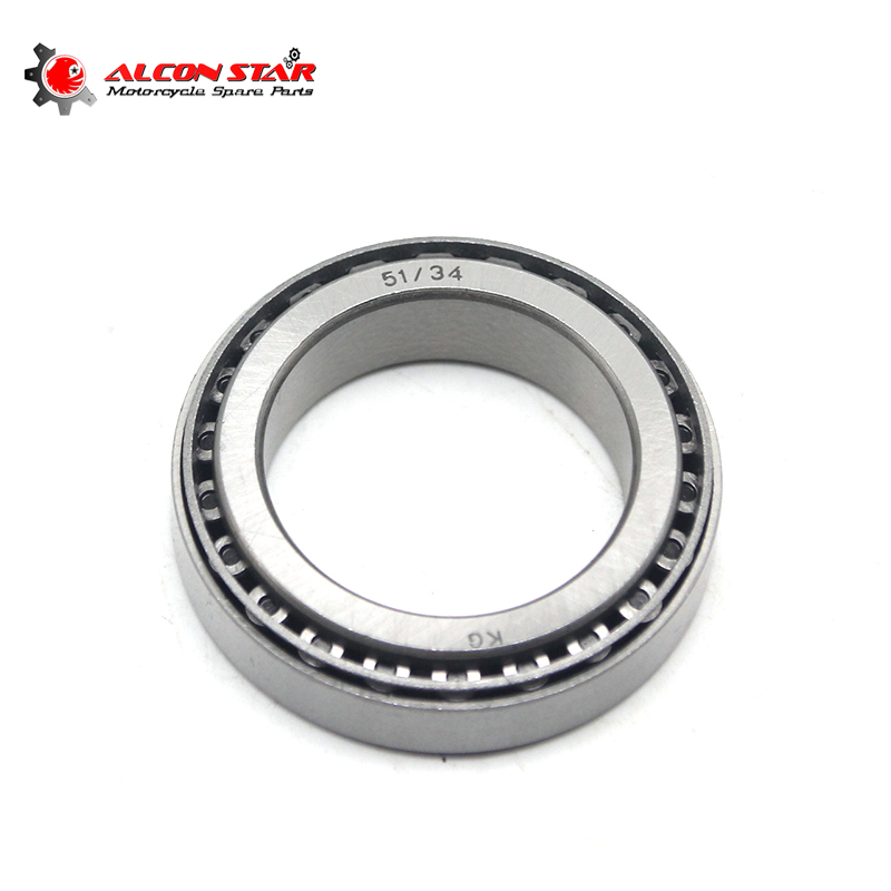 Alconstar- 1Pair Motorcycle Front Tapered Steering Column Bearings Kit For BMW R51 R71 R24-R69S M72 K750 For Ural CJ-K750 Race