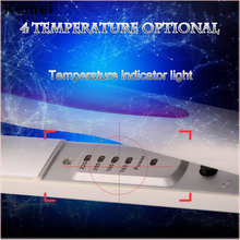 Kemei Professional Fast Flat Iron Straightening Irons Styling Tools with power and temperature indicator light Hair Straightener