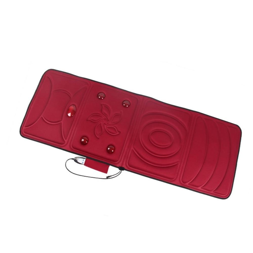 Electric Full Body Massager Pad Mattress Heating Vibrating -5018