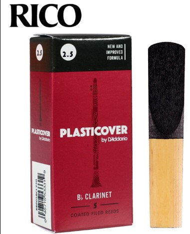 Rico By D'addario Plasticover Bb Clarinet Reed, 2/2.5/3/3.5