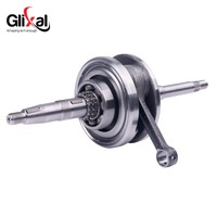 Glixal 152QMI 157QMJ Crankshaft for GY6 125cc 150cc Scooter Moped ATV Go Kart Quad