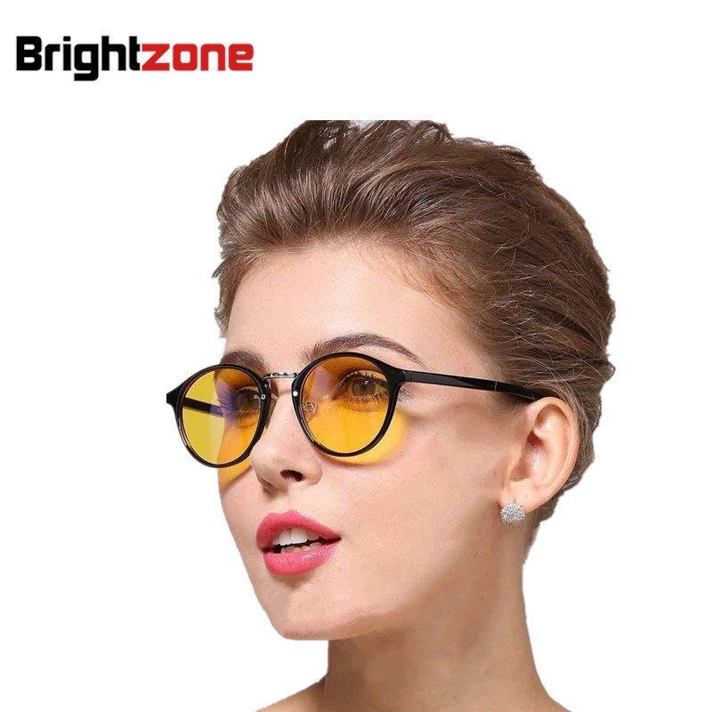 High Grade kerek szemüveg keret nők férfiak sugárzás elleni védelem anti-UV fáradtság elleni sima szemüveg beltéri szemüveg szemüveg