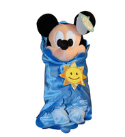Baby Mickey Mouse In A Blanket Plush Doll 30cm Mickey Mouse Plush Toys No Tags