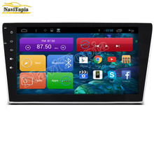 NAVITOPIA 1024*600 10.2'' Quad Core Android 4.4 Car Radio Player for Honda CRV 2007-2011 With Bluetooth 16GB 3G Wifi Mirror Link