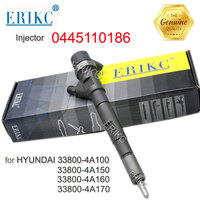 0445110186 Common Rail Injectors 0 445 110 186 Fuel Injector Diesel Engine Parts Injection 0445 110 186 for Hyundai KIA