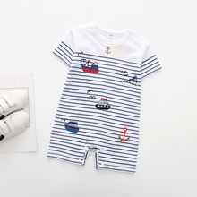 Baby Rompers Short Sleeve Clothes 3-18 Months