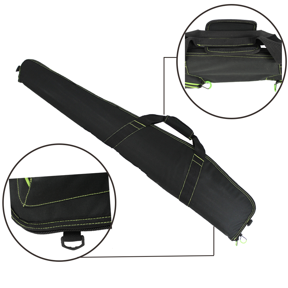 "Image 4 - New style Soft 48""40'' 52""  44 inch Rifle Black Gun Case Tactical Gun Bag Hunting Accessories Bag Airsoft Holster Pouch-in Holsters from Sports & Entertainment"