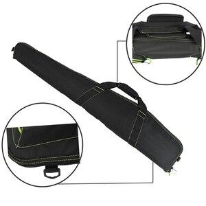 """Image 4 - W nowym stylu miękkie 48 """"40 52 """"44 cal karabin czarny pistolet Case Tactical Gun Bag akcesoria myśliwskie torba kabura Airsoft"""