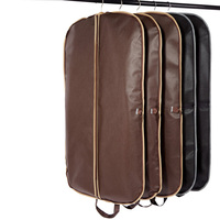 New Coffee Folding Business Suit Coat Clothe Garment Dust Cover Protector Storage Bag