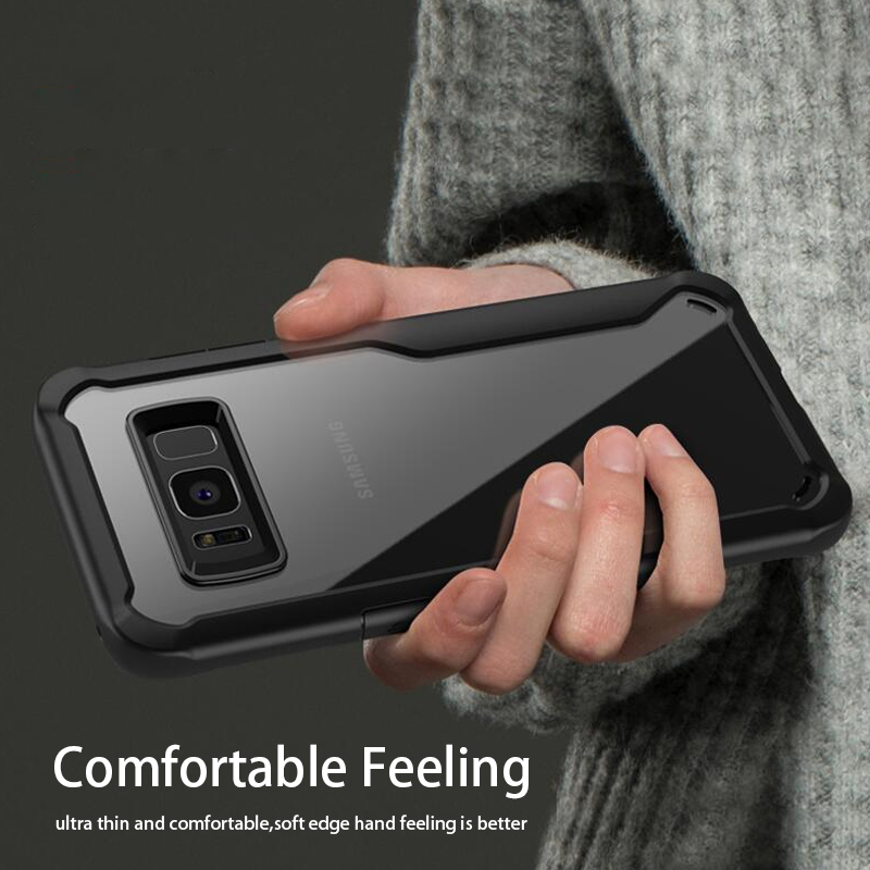LUPHIE Shockproof Case for Samsung Galaxy S9 S8 Plus Note 8 A8 A6 Plus 2018  (13)