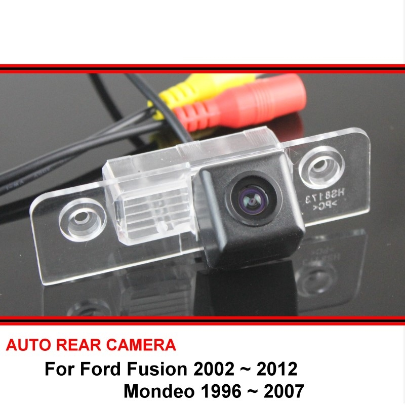 For Ford Fusion 2002-2012 Mondeo 1996-2007 Car Rear View Camera Trasera Auto Reverse Backup Parking Night Vision Waterproof HD