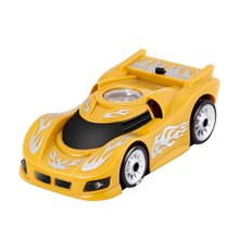 Blue Wall and Ceiling Remote Control Car Racer