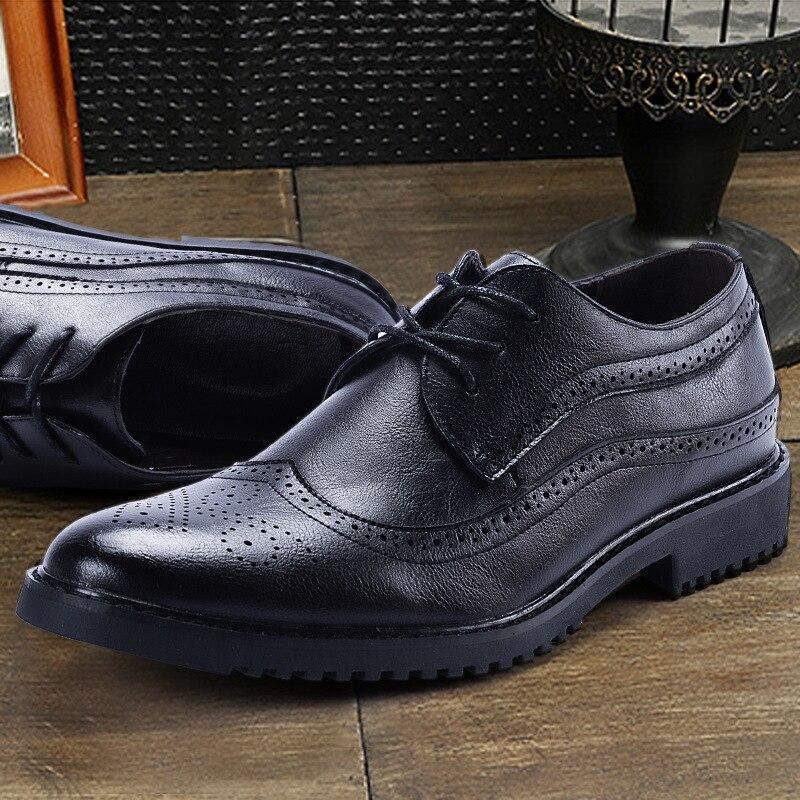 Sapatos 2018 Men Inverno Homens Camurça 38 Oxford 48 Shoes De Calçado Mens qqRrw0
