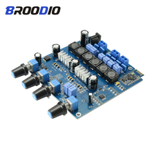 TPA3116 Bluetooth Amplifier Board 2.1 Channel High Power Subwoofer Audio Amplifier Board 2*50W+100W Class D amplificador Speaker dc24v 2 channel 100w 100w 2 0 4ohm high power class d sta508 digital car audio hifi amplifier board
