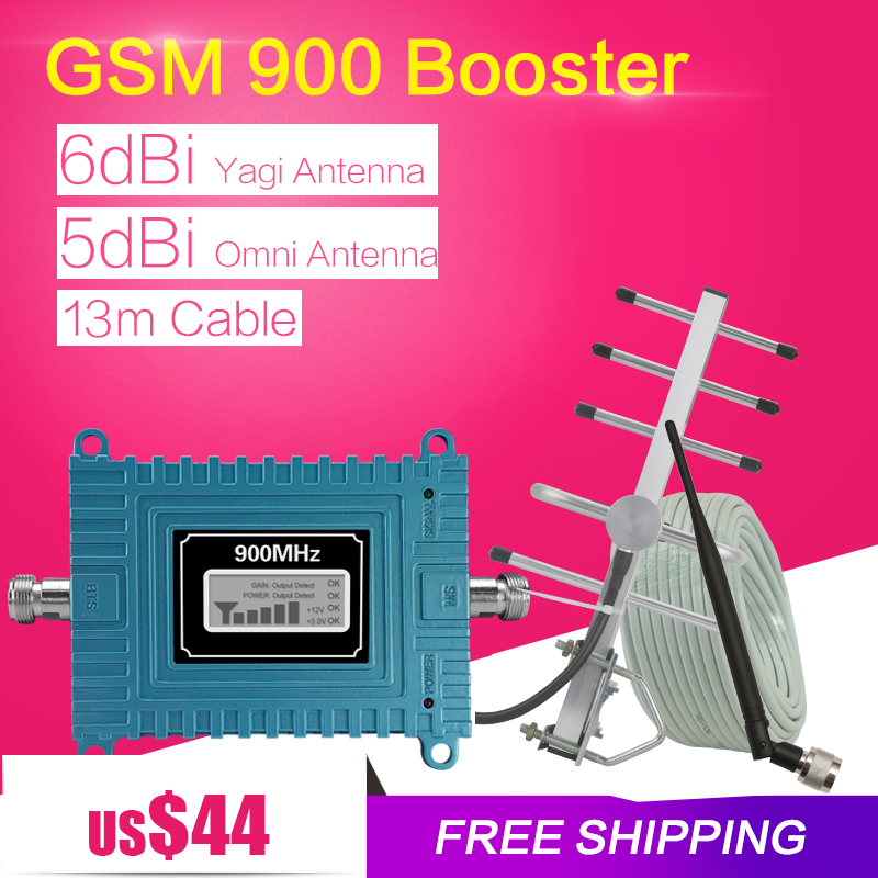 GSM Signal Booster 900 mhz Mini 65dB LCD Display GSM Cellular Signal Repeater GSM 900 mhz Handy Verstärker Für home Office