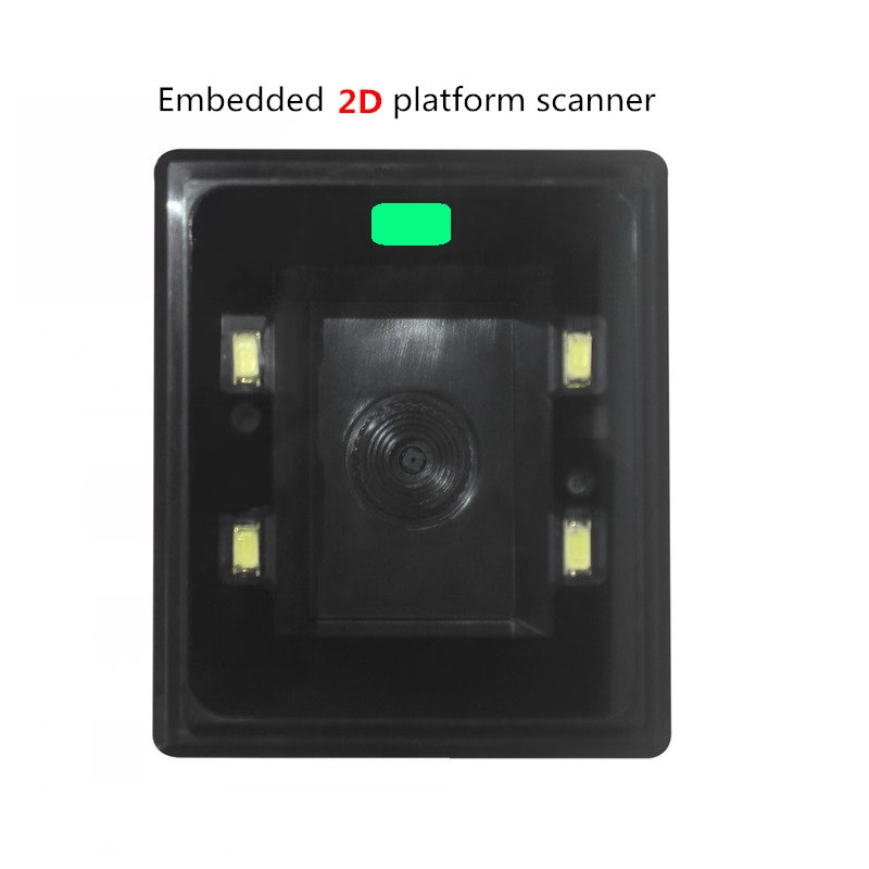 Fixed 2D Platform Scanner 1D 2D Barcode Scanning Platform Embedded Desktop Bar Code Reader Self-inductive ScannerFixed 2D Platform Scanner 1D 2D Barcode Scanning Platform Embedded Desktop Bar Code Reader Self-inductive Scanner