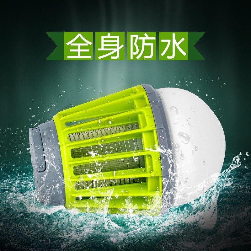 Многофункциональный светодиодный с сеткой от комаров Killer Электрический шок Бытовая безрадиационная Электроника от москитов