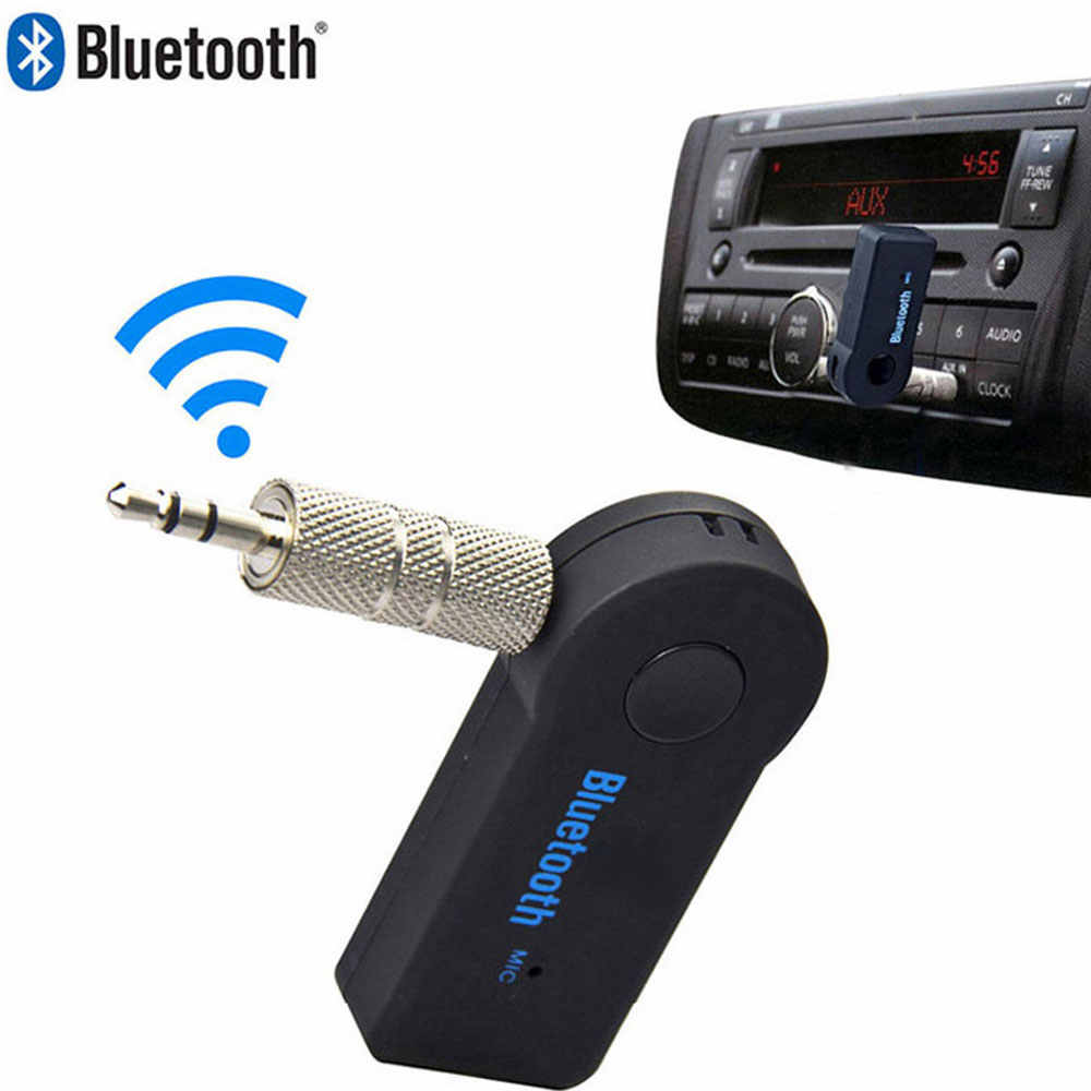 Mini 3.5MM Jack AUX Audio MP3 Music Bluetooth Receiver Car Kit Wireless Handsfree Speaker Headphone Adapter for iphone Xiaomi