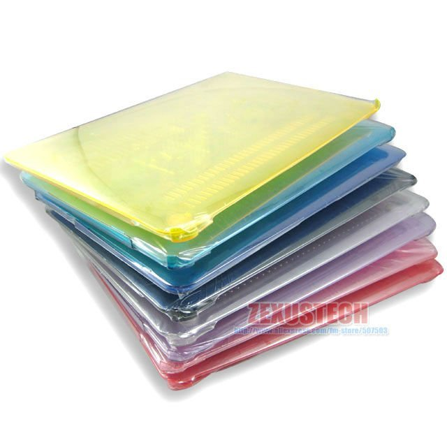 Retail Transparent Case For Notebook Pro 13 15 inch Crystal See Through Glossy Cover For Notebook FREE SHIPPING