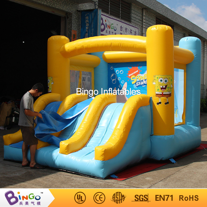Giant Inflatable Games Commercial Bounce Houses 4.4M * 3.3M * 2.6M Bouncy Castle Inflatable Water Slides for sale toys inflatable wet dry waterslide kids commercial bounce house bouncy water slide hot for sale