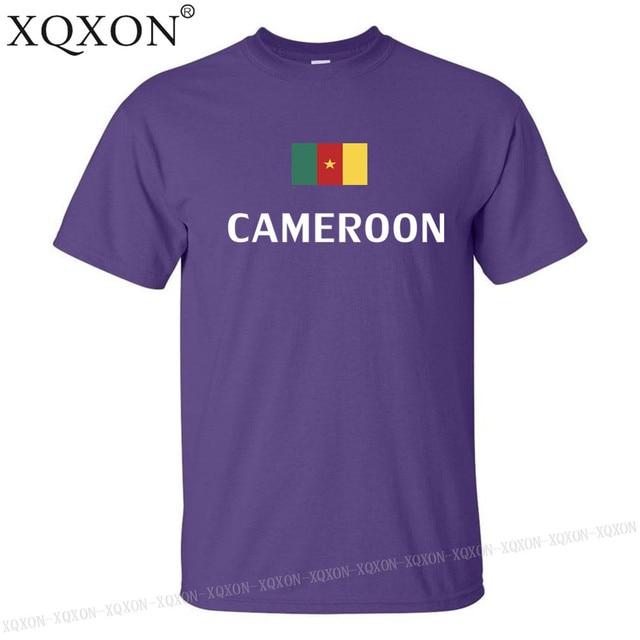 Cameroun conception t-shirt mixte été 2018 5