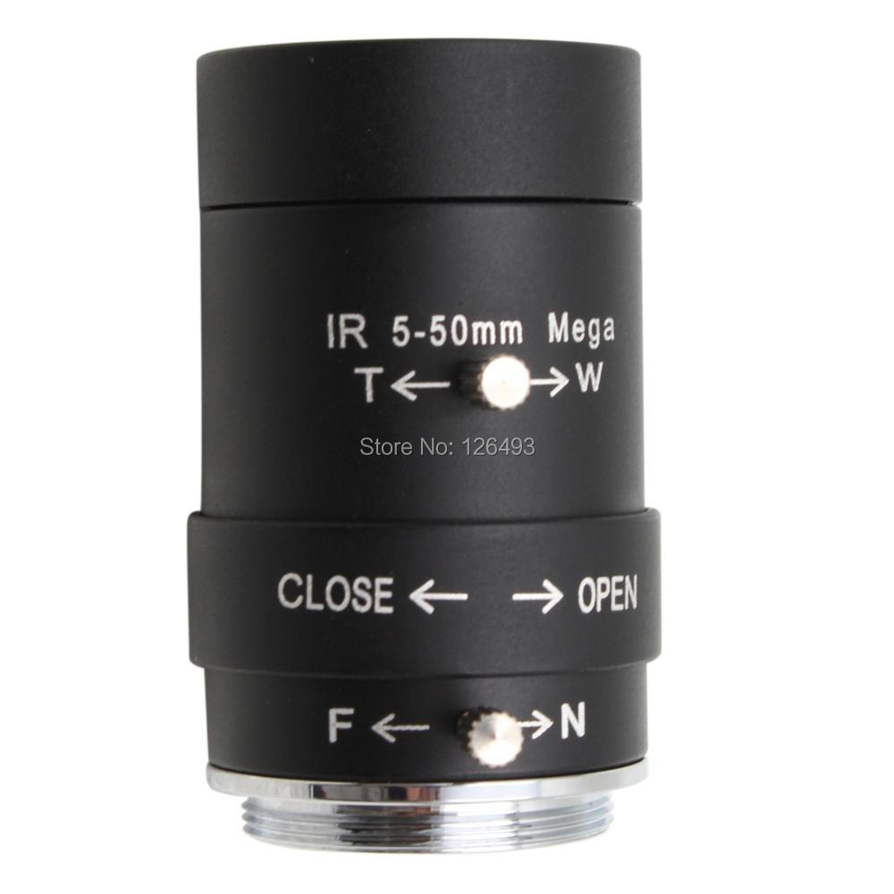 ELP CCTV 5 50mm CS Mount High resolution high quality Manual zoom Varifocal Lens